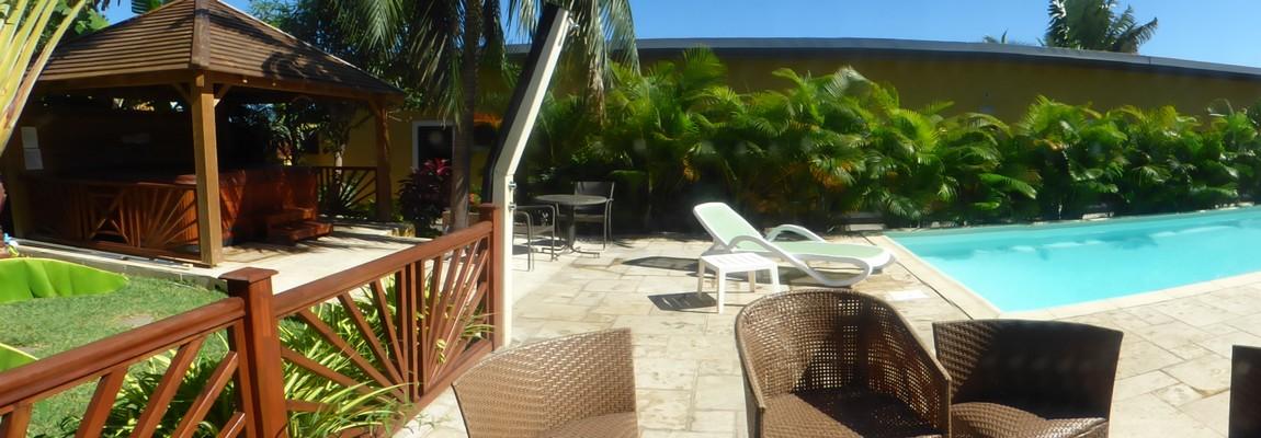 Spa et piscine à la Réunion